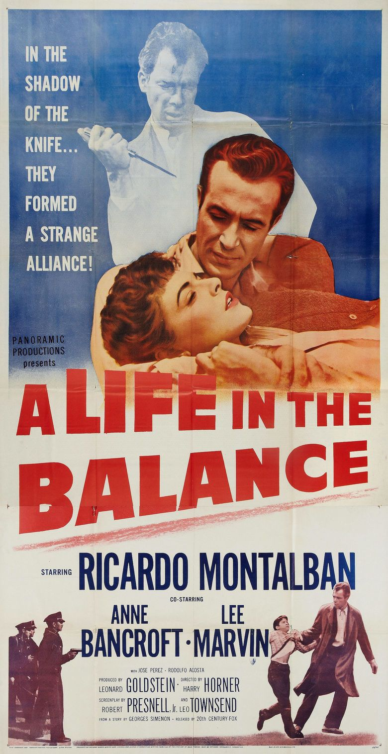 A Life in the Balance movie poster