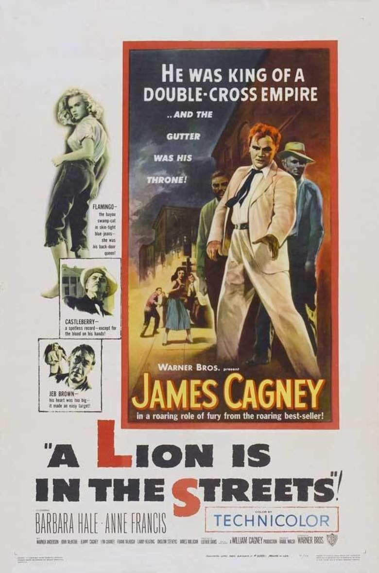 A Lion Is in the Streets movie poster