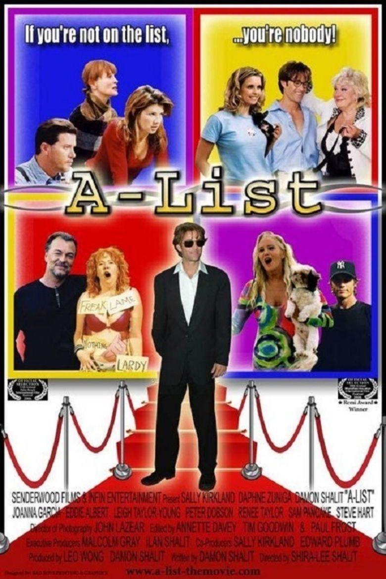 A List (film) movie poster