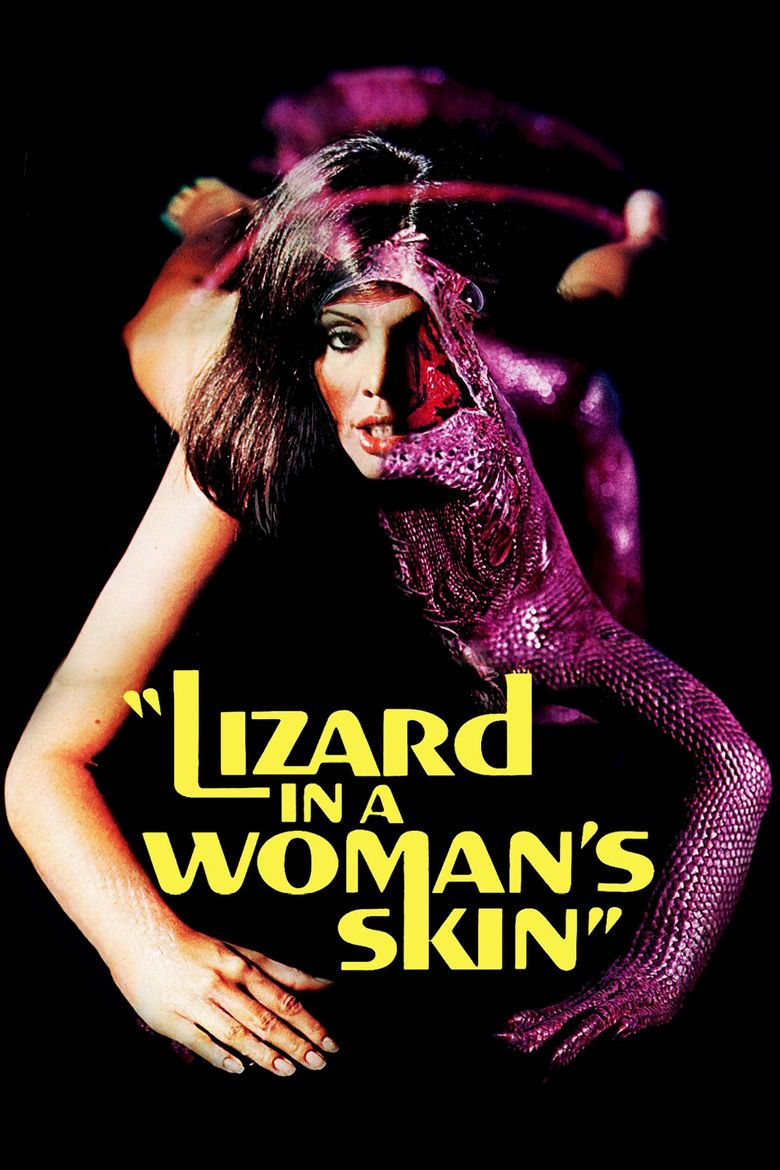 A Lizard in a Womans Skin movie poster