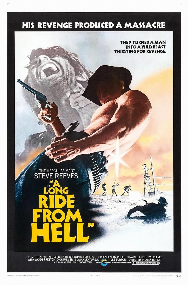 A Long Ride from Hell movie poster