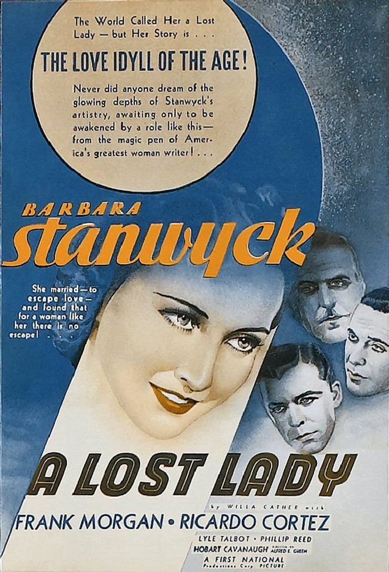 A Lost Lady (film) movie poster