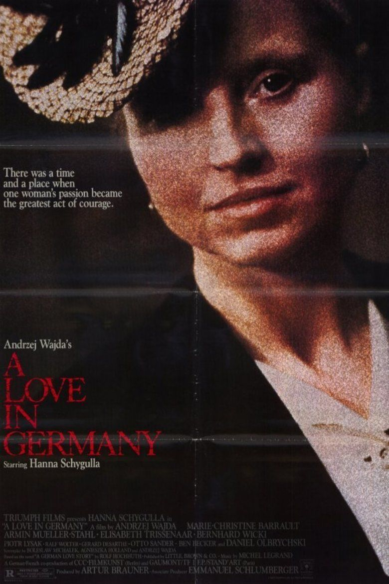 A Love in Germany movie poster