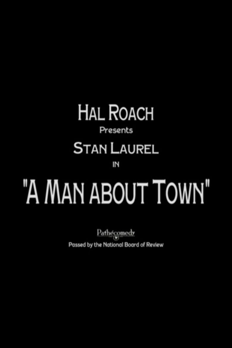 A Man About Town movie poster