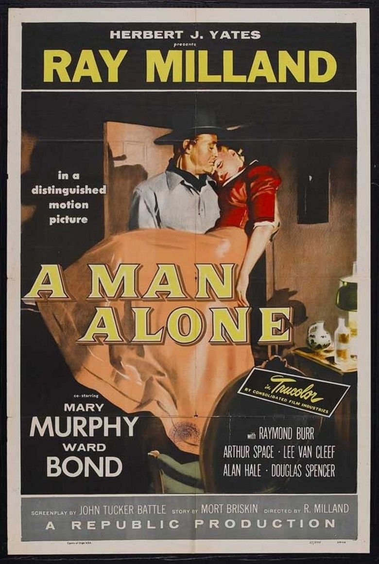 A Man Alone (film) movie poster