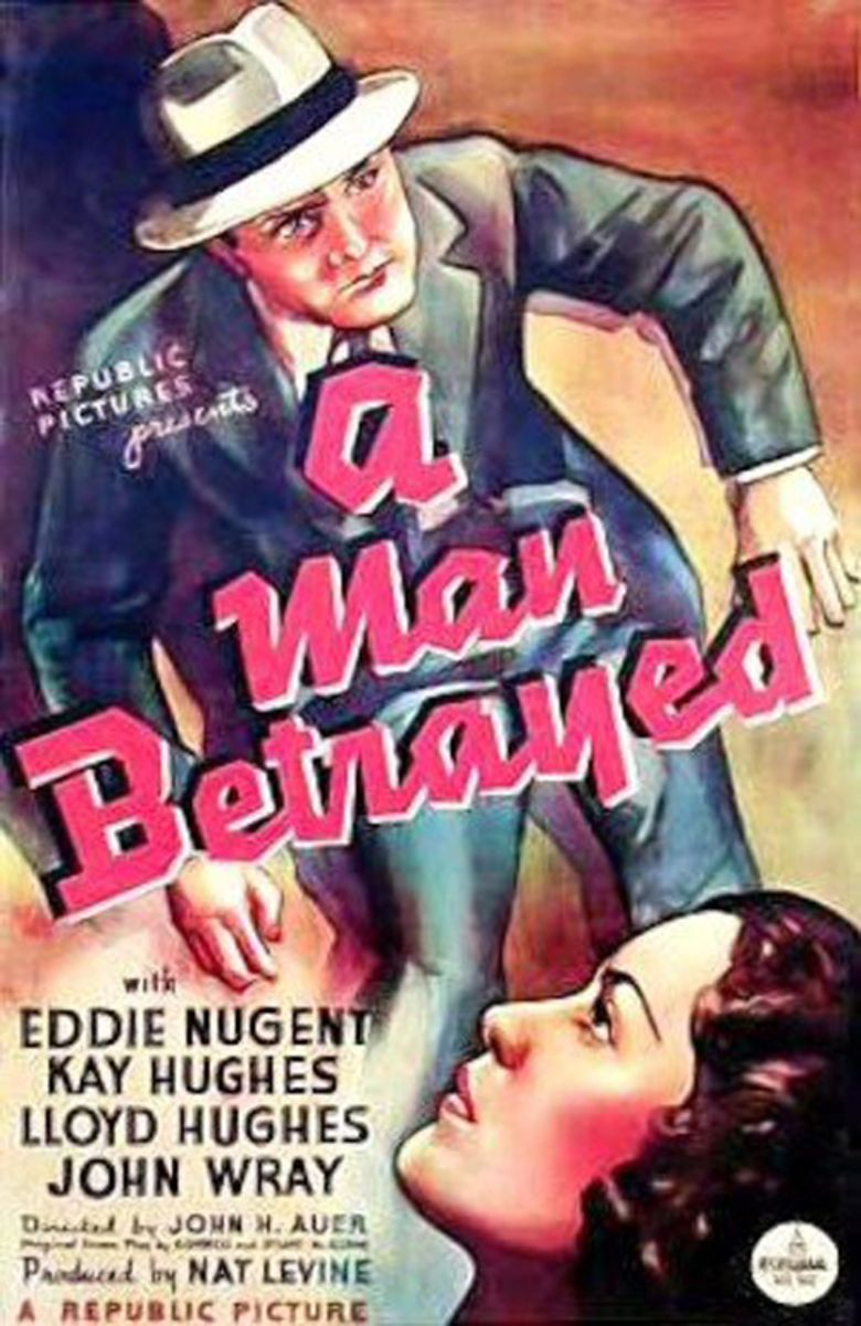 A Man Betrayed (1936 film) movie poster