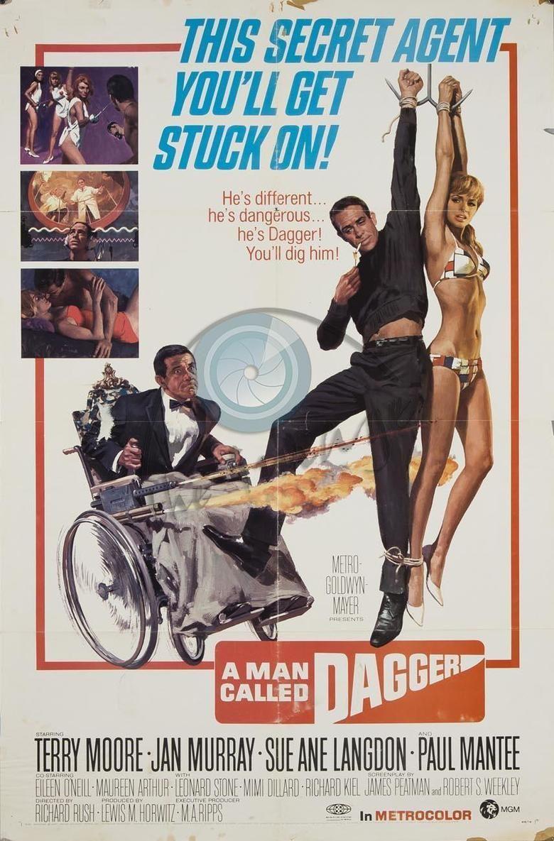 A Man Called Dagger movie poster