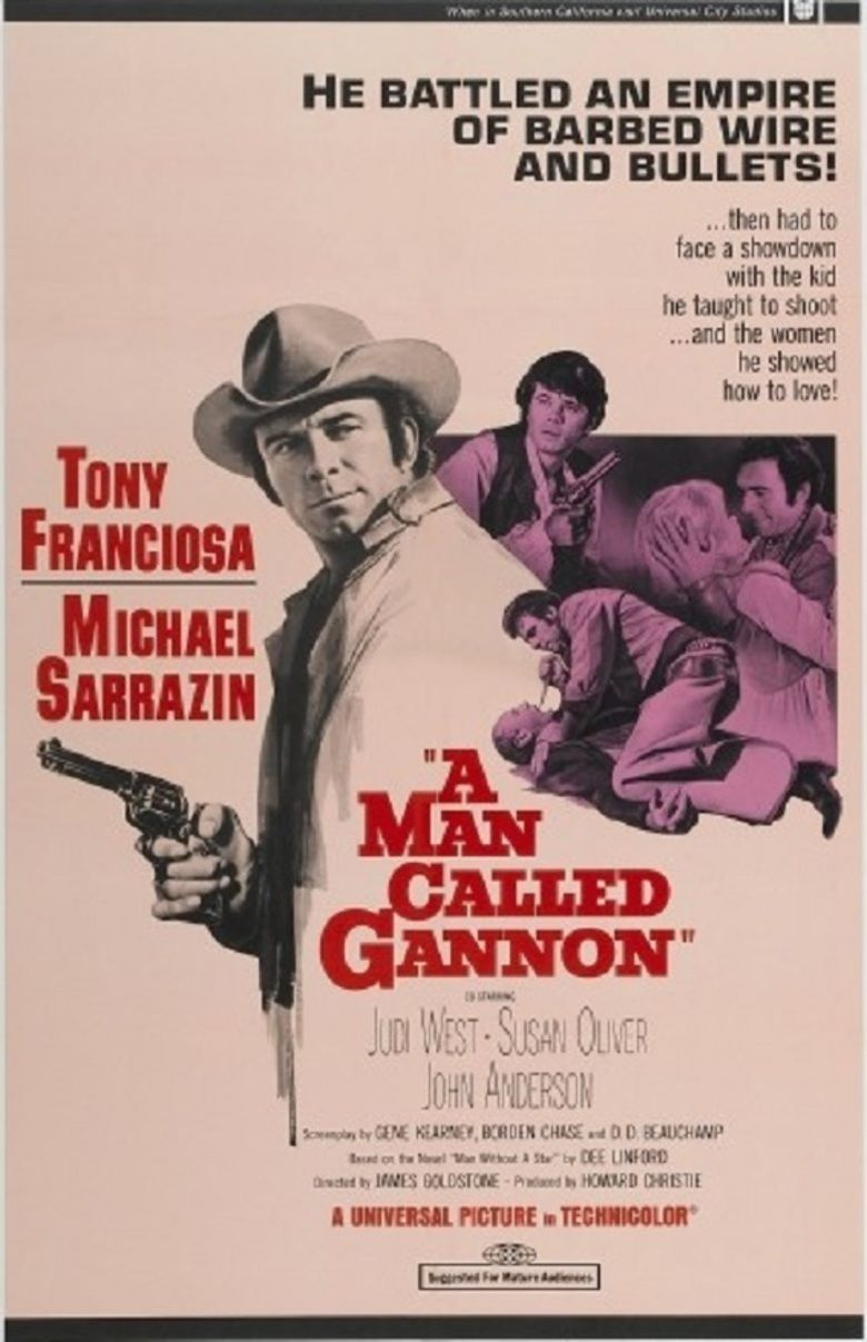 A Man Called Gannon movie poster