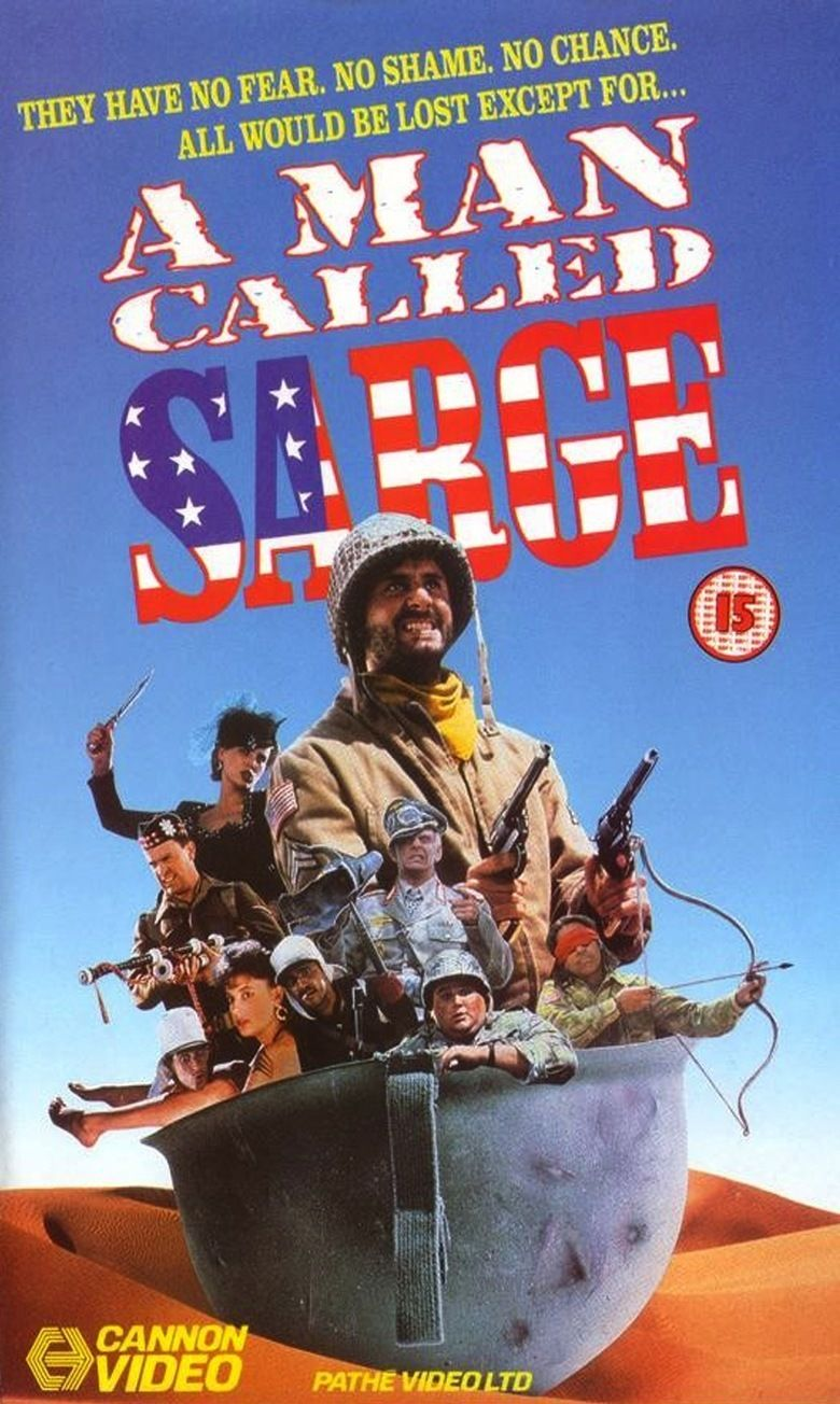 A Man Called Sarge movie poster