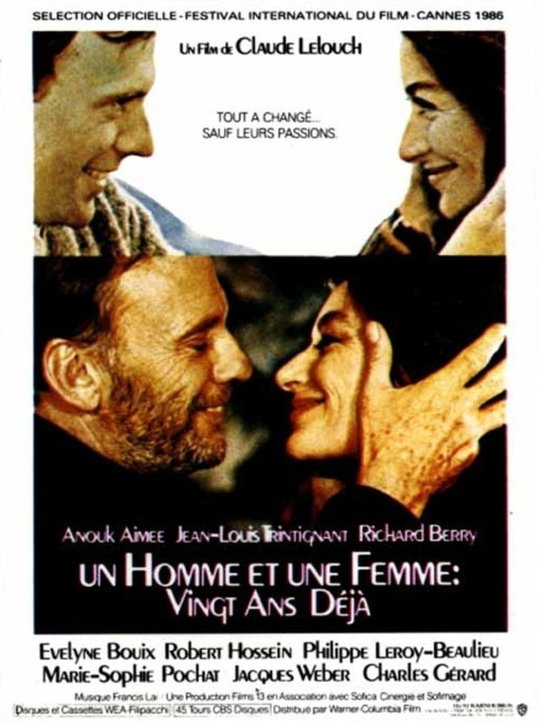 A Man and a Woman: 20 Years Later movie poster