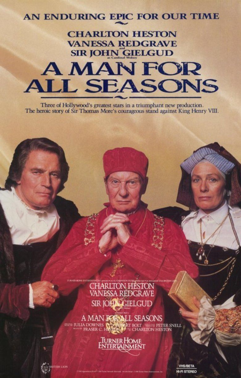 A Man for All Seasons (1988 film) movie poster