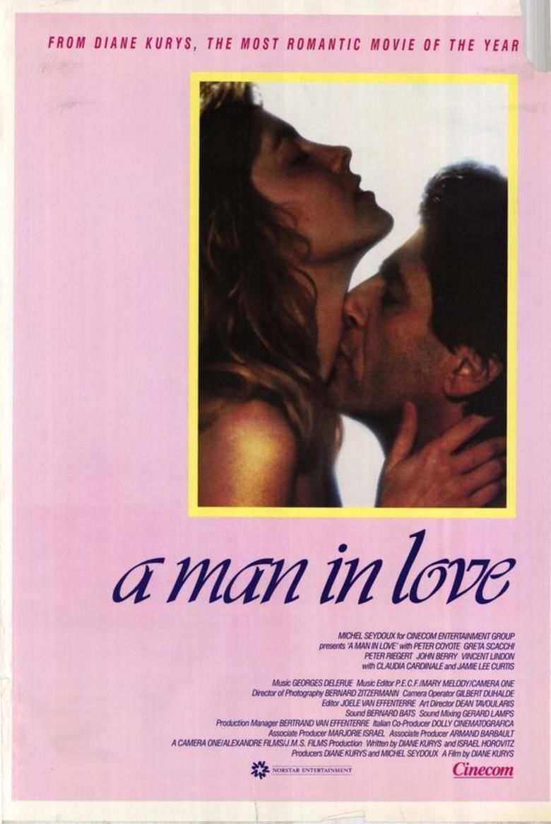 A Man in Love (1987 film) movie poster