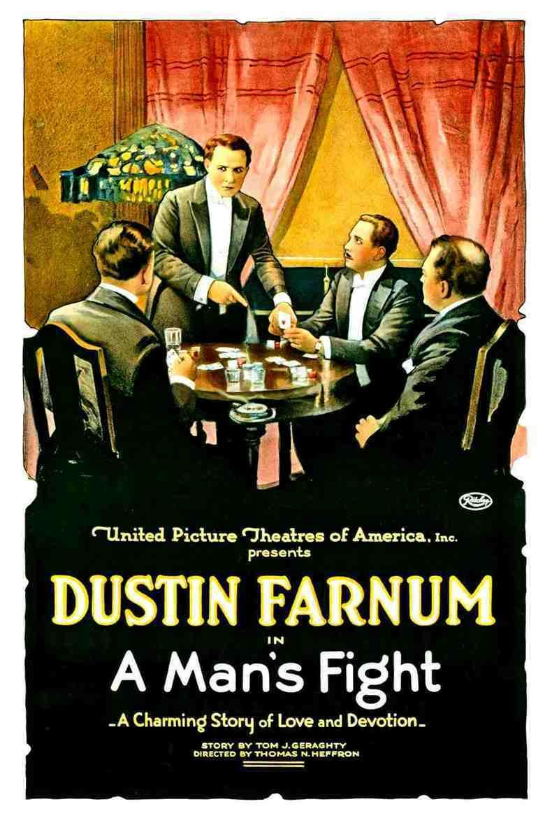 A Mans Fight movie poster