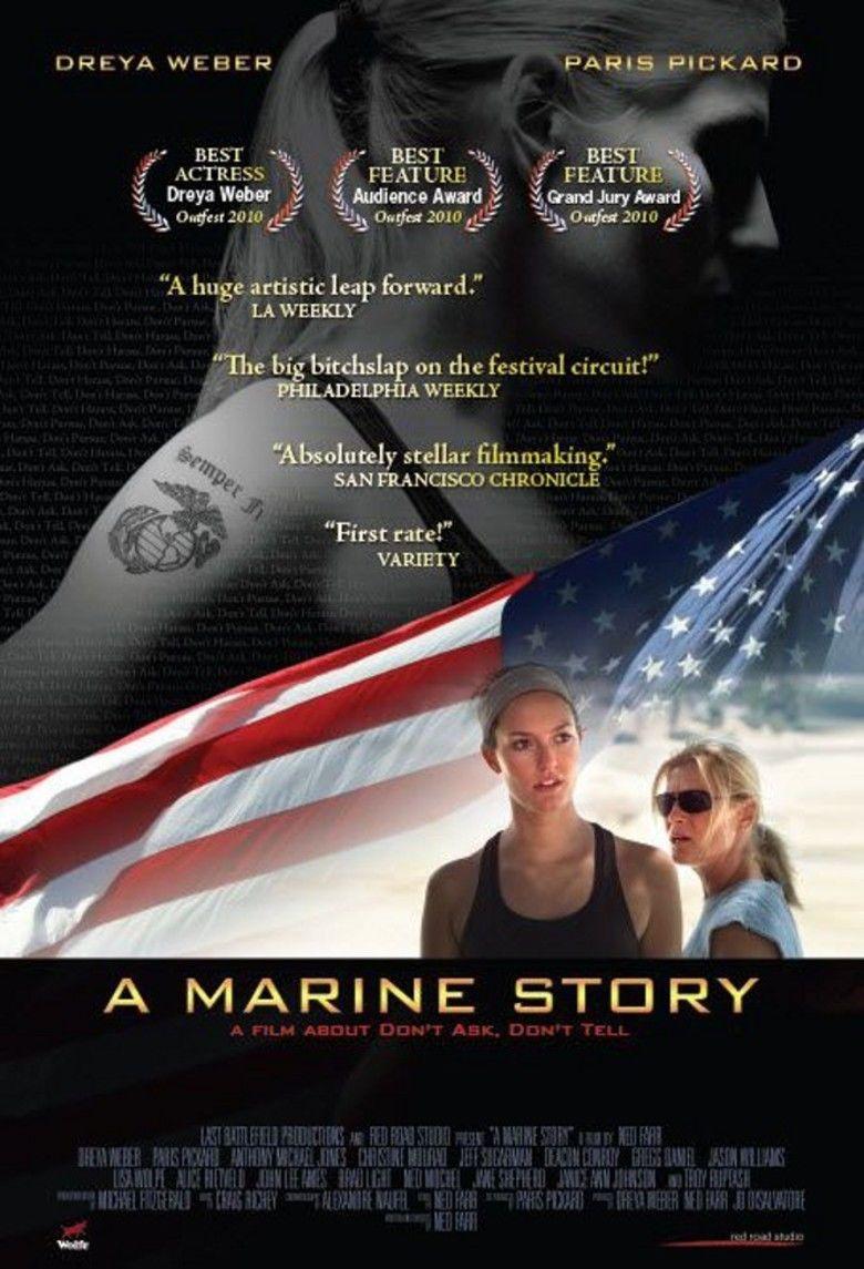 A Marine Story movie poster