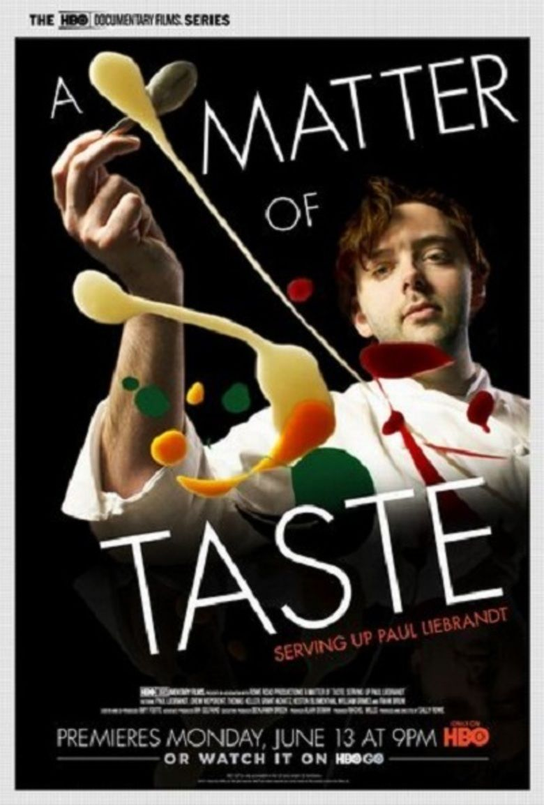 A Matter of Taste movie poster