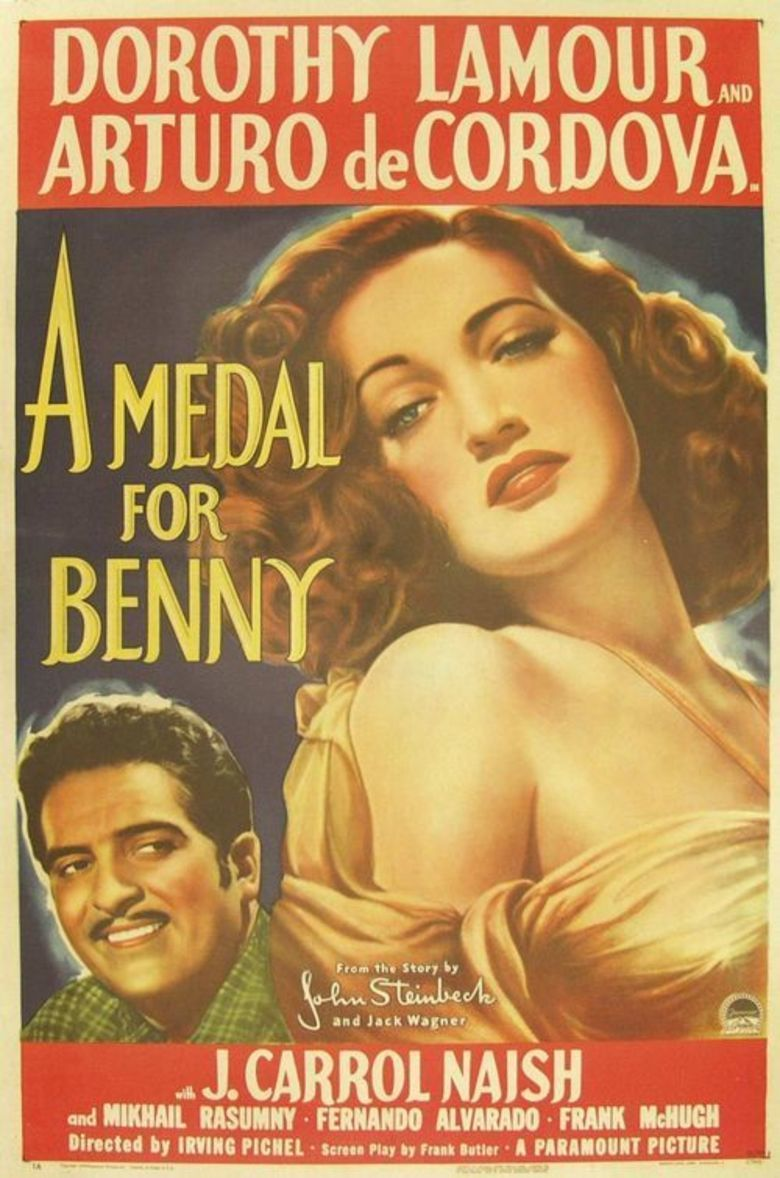 A Medal for Benny movie poster