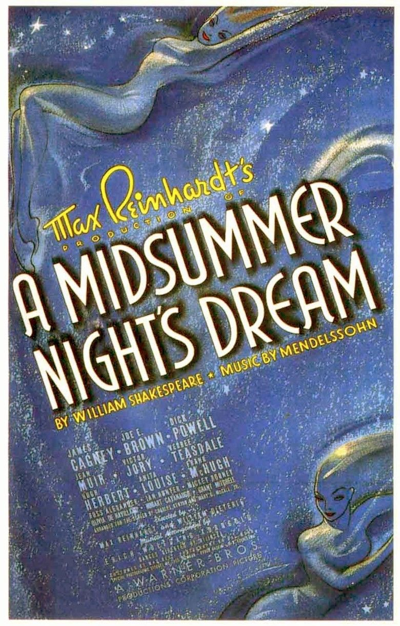 A Midsummer Nights Dream (1935 film) movie poster