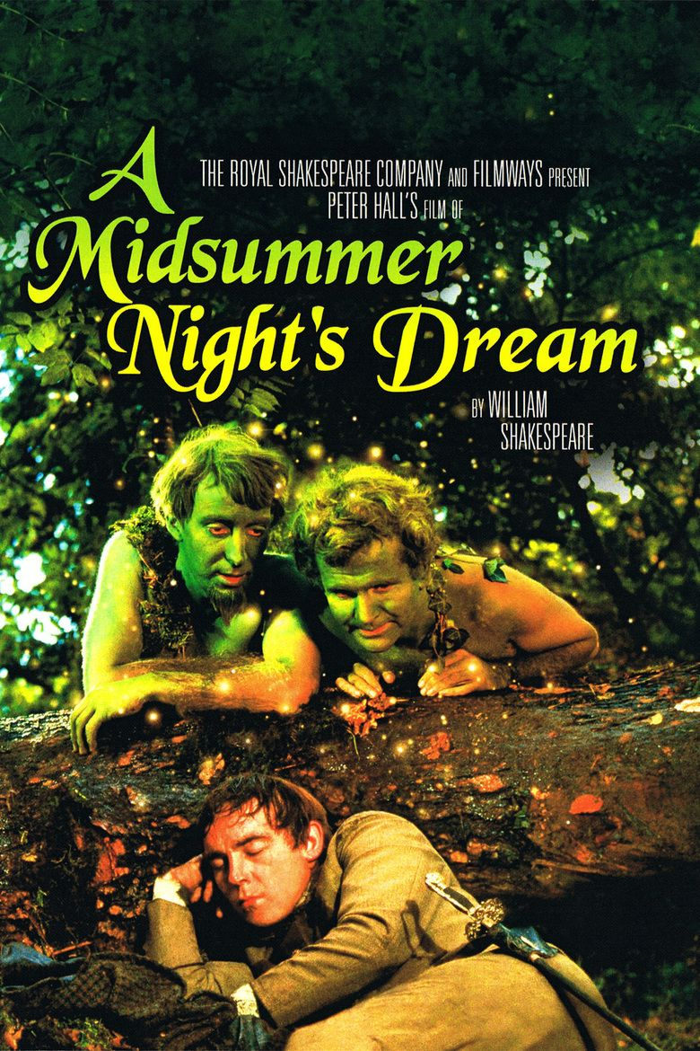A Midsummer Nights Dream (1968 film) movie poster