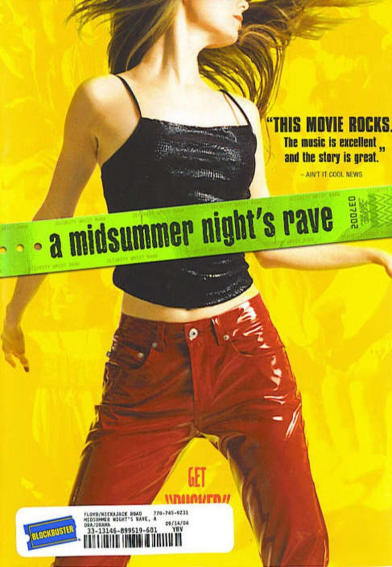 A Midsummer Nights Rave movie poster