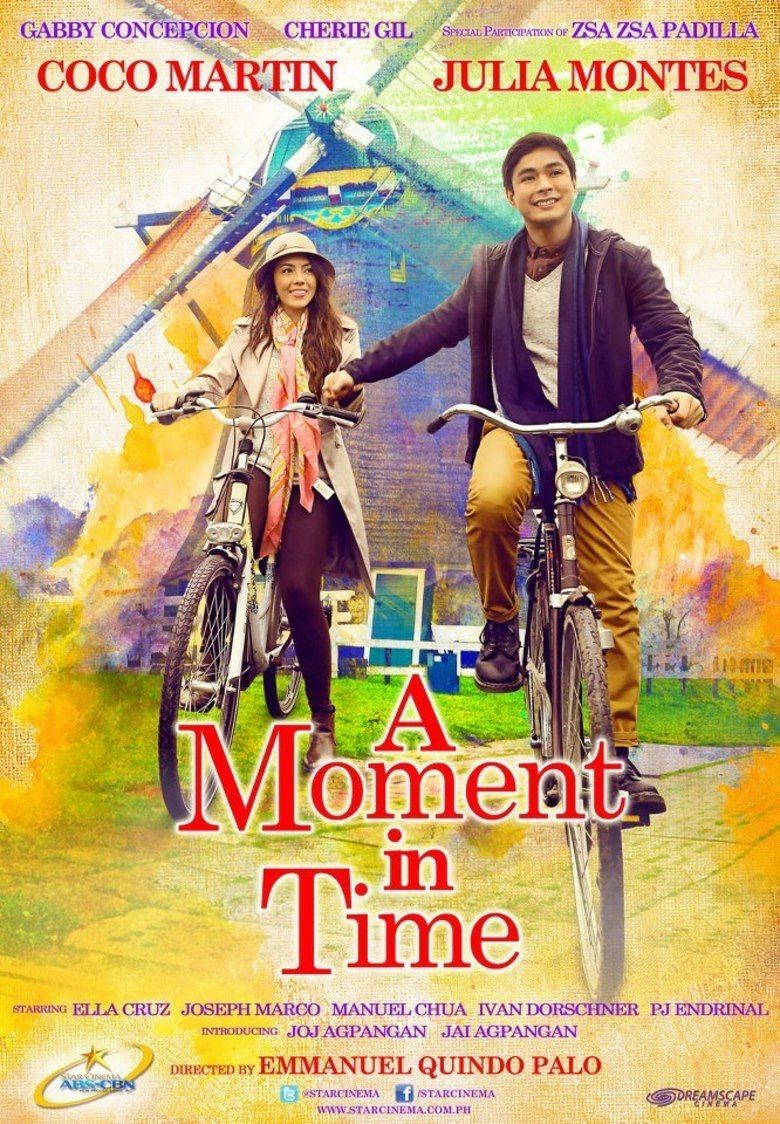 A Moment in Time (film) movie poster