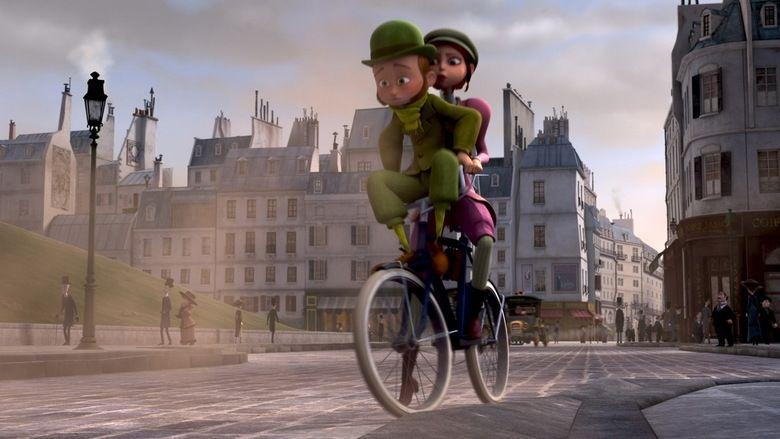 A Monster in Paris movie scenes