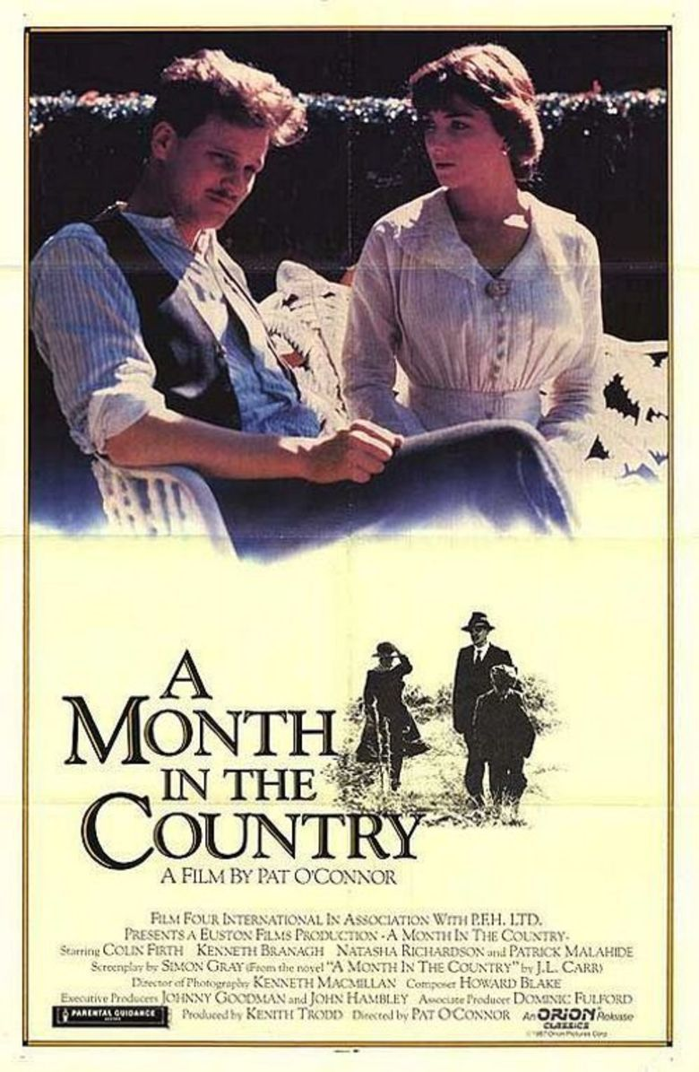A Month in the Country (film) movie poster