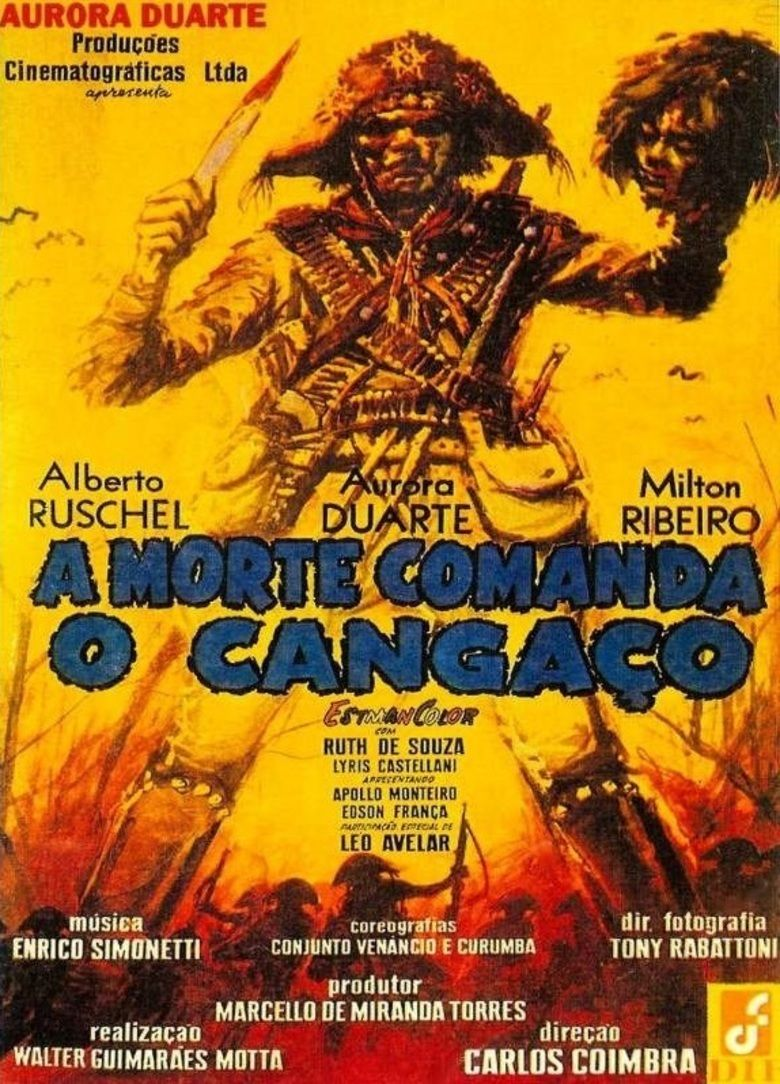 A Morte Comanda o Cangaco movie poster
