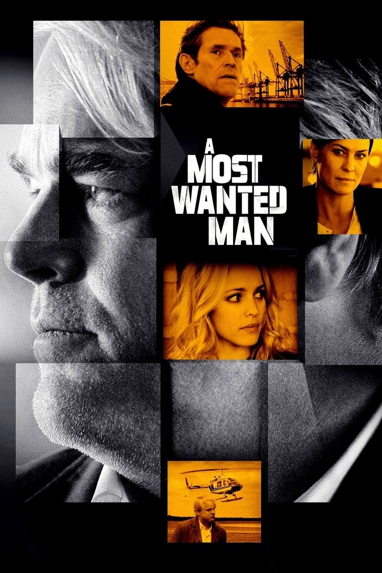 A Most Wanted Man (film) movie poster