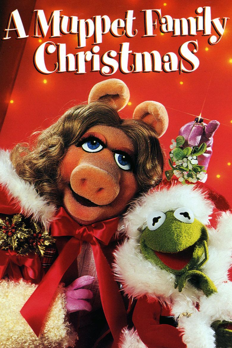 A Muppet Family Christmas movie poster