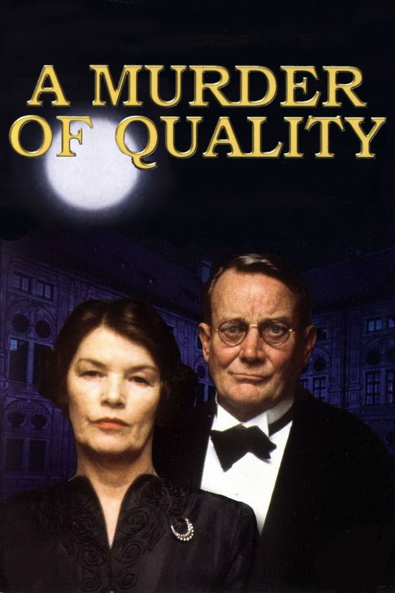 A Murder of Quality (film) movie poster