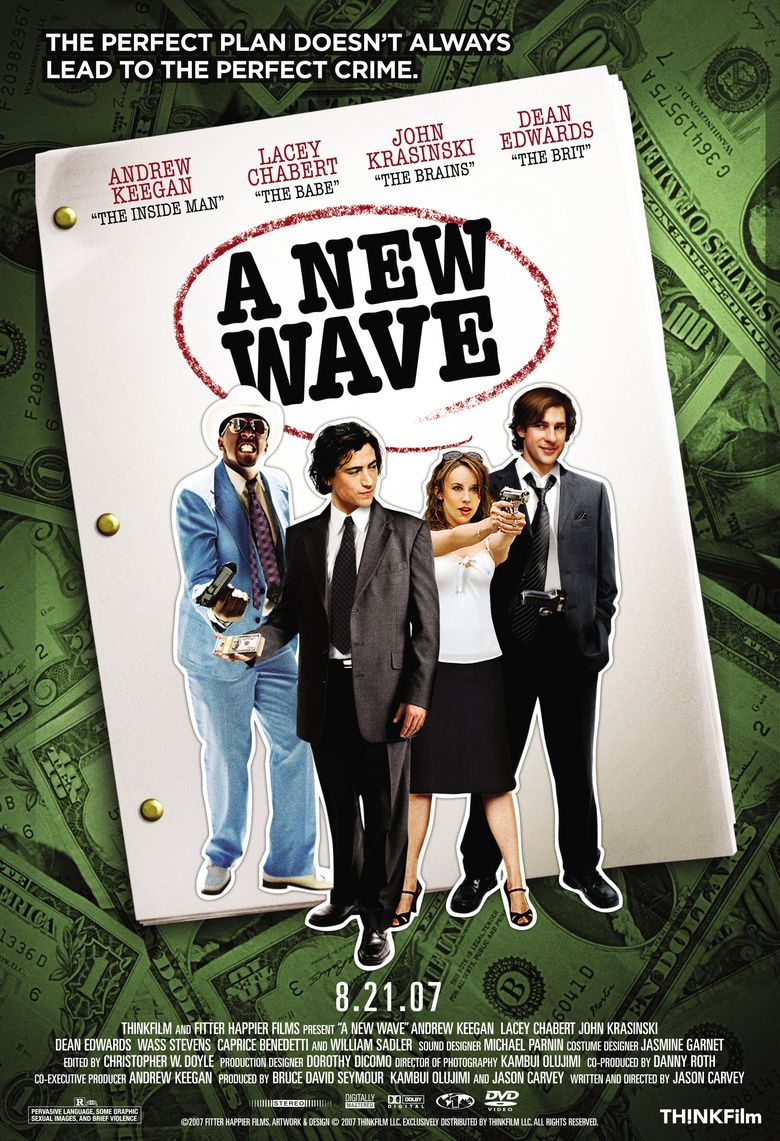 A New Wave movie poster