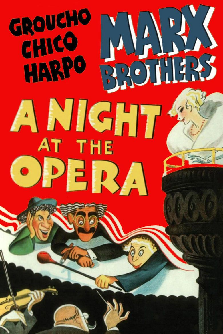 A Night at the Opera (film) movie poster