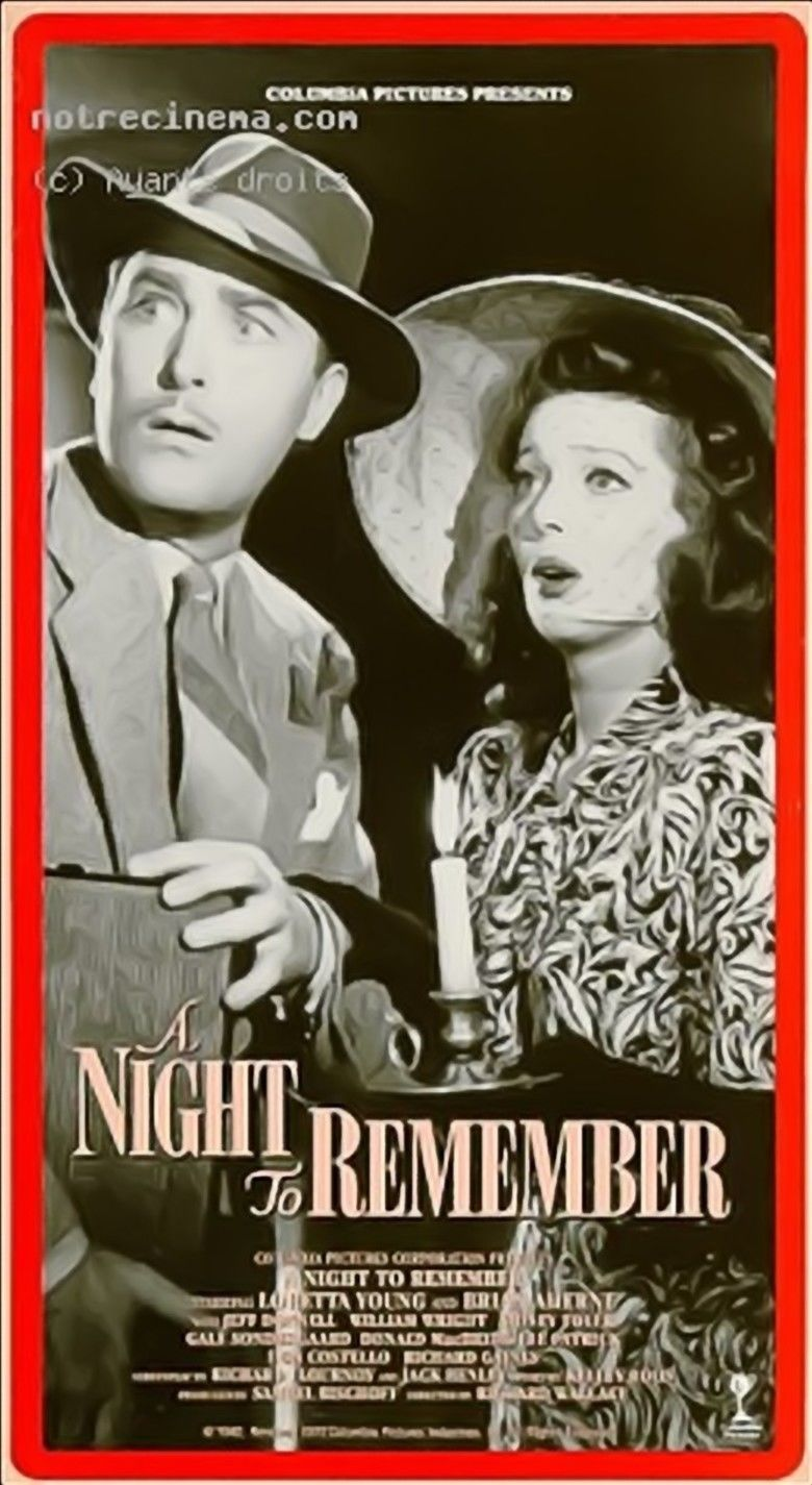 A Night to Remember (1942 film) movie poster