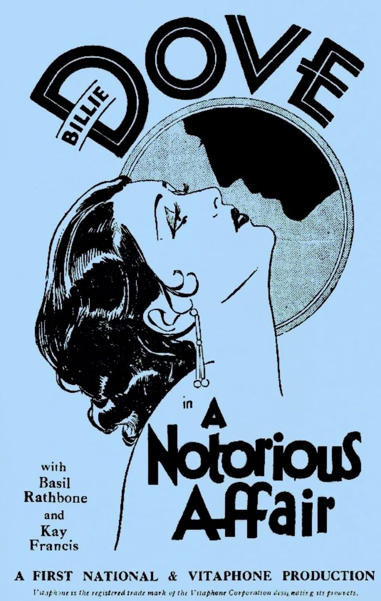 A Notorious Affair movie poster
