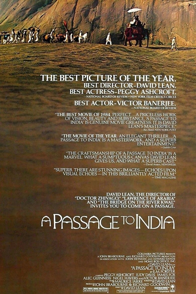A Passage to India (film) movie poster
