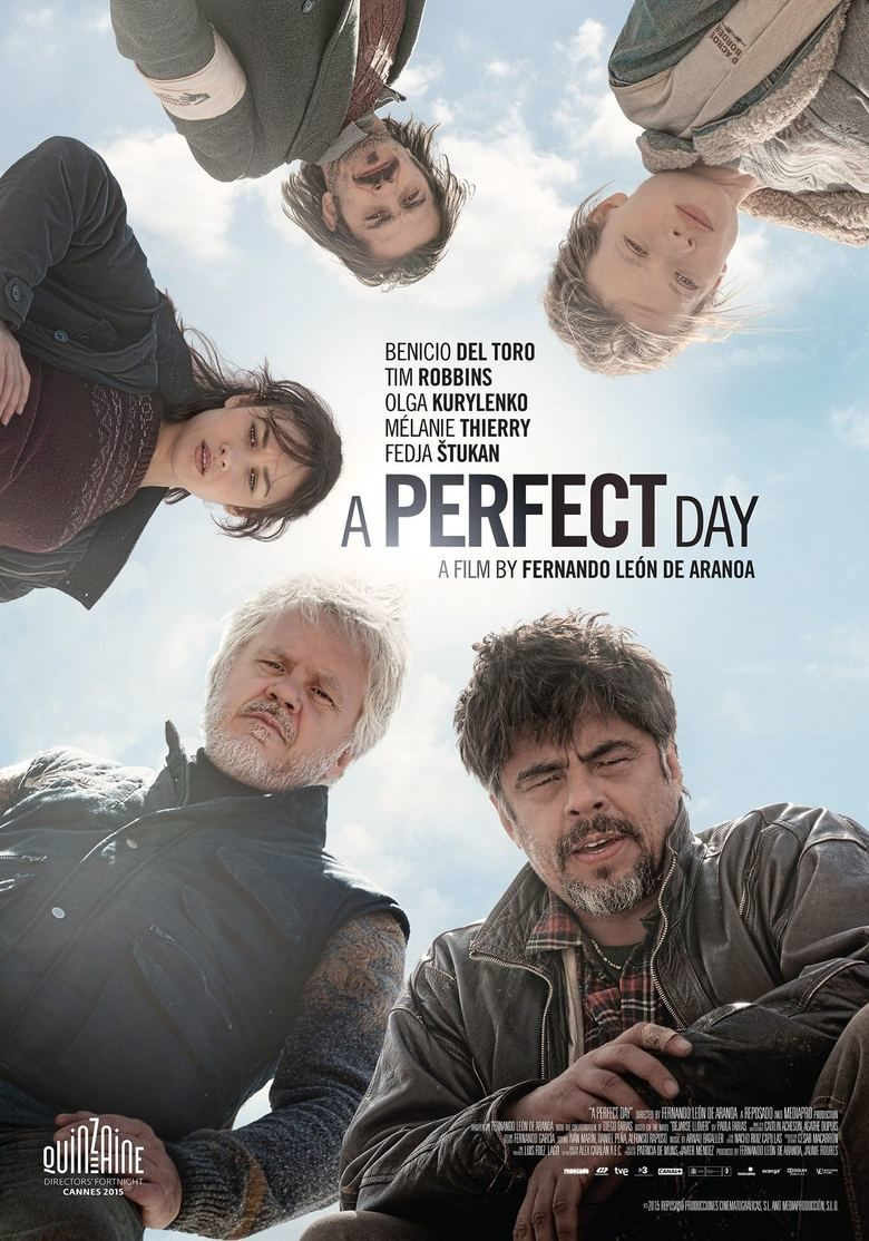 A Perfect Day (2015 film) movie poster