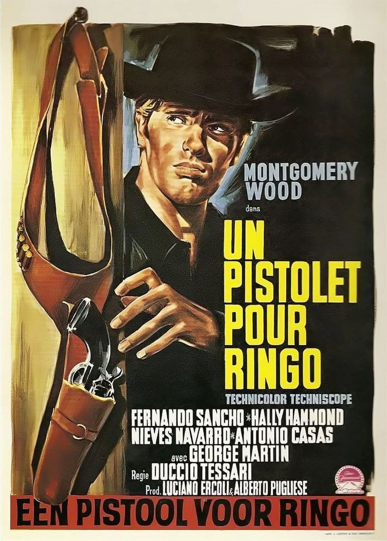 A Pistol for Ringo movie poster