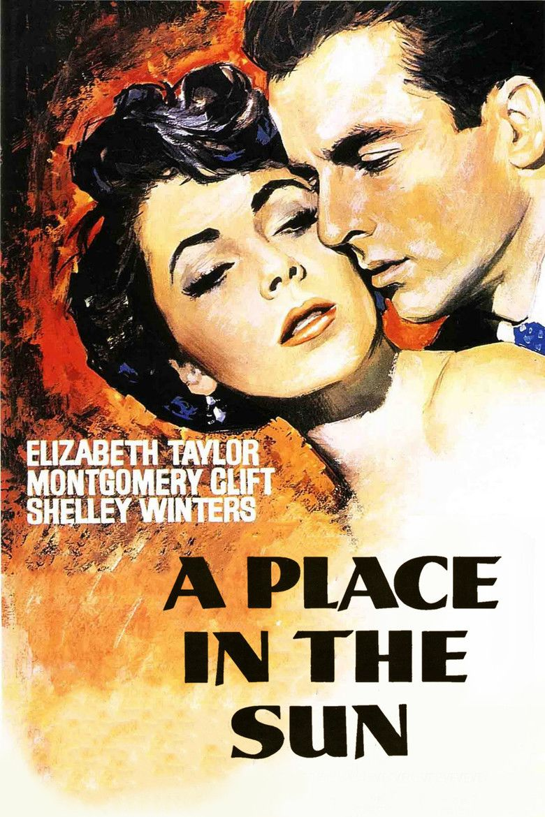 A Place in the Sun (film) movie poster