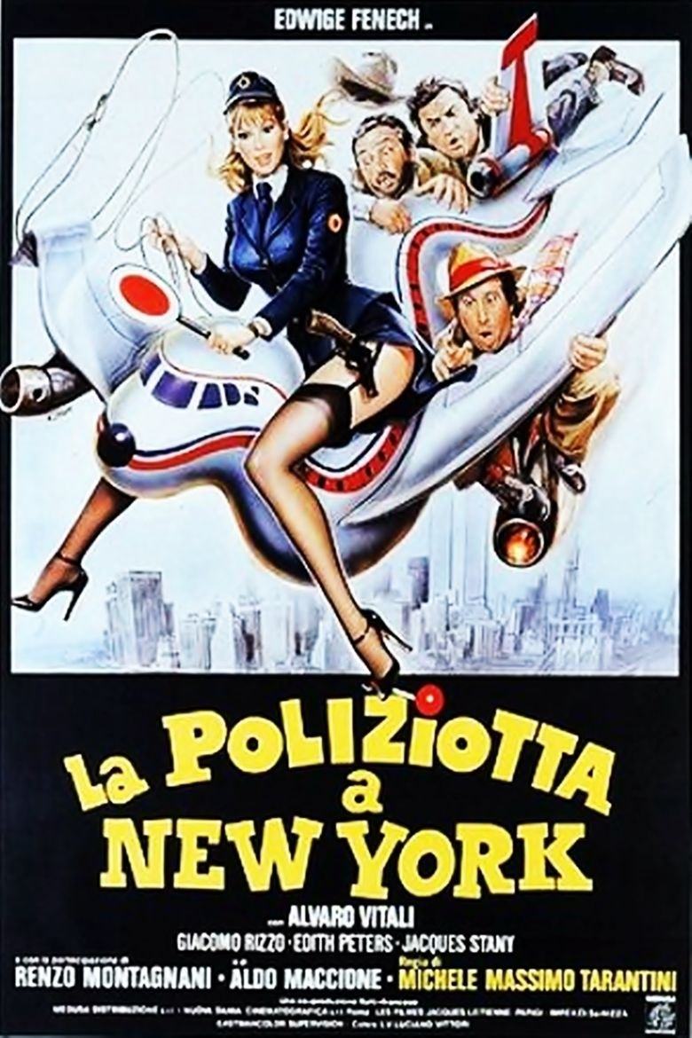 A Policewoman in New York movie poster