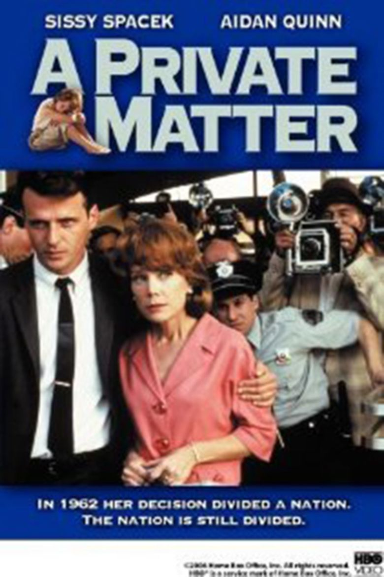 A Private Matter movie poster