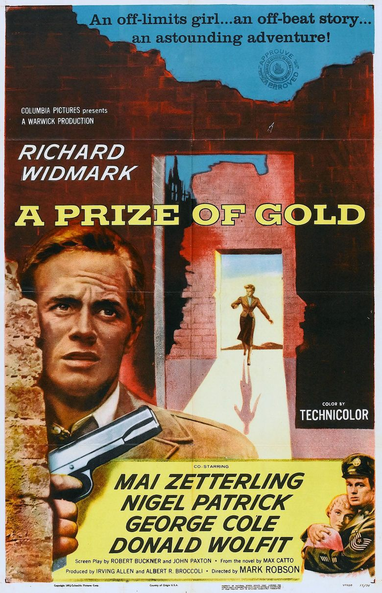 A Prize of Gold movie poster