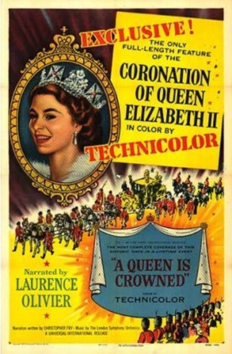 A Queen Is Crowned movie poster