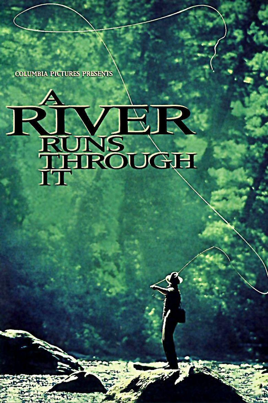 A River Runs Through It (film) movie poster