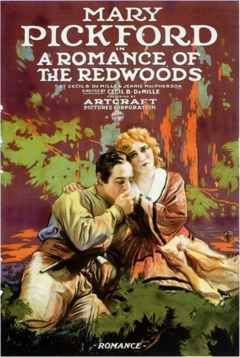 A Romance of the Redwoods movie poster