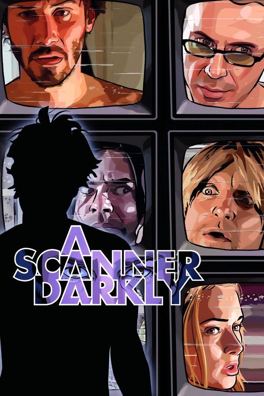 A Scanner Darkly (film) movie poster