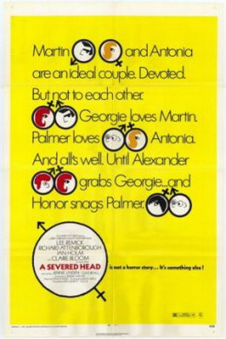 A Severed Head (film) movie poster