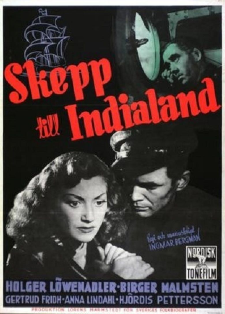 A Ship Bound for India movie poster