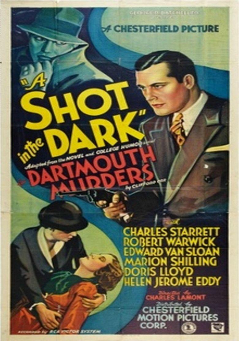A Shot in the Dark (1935 film) movie poster