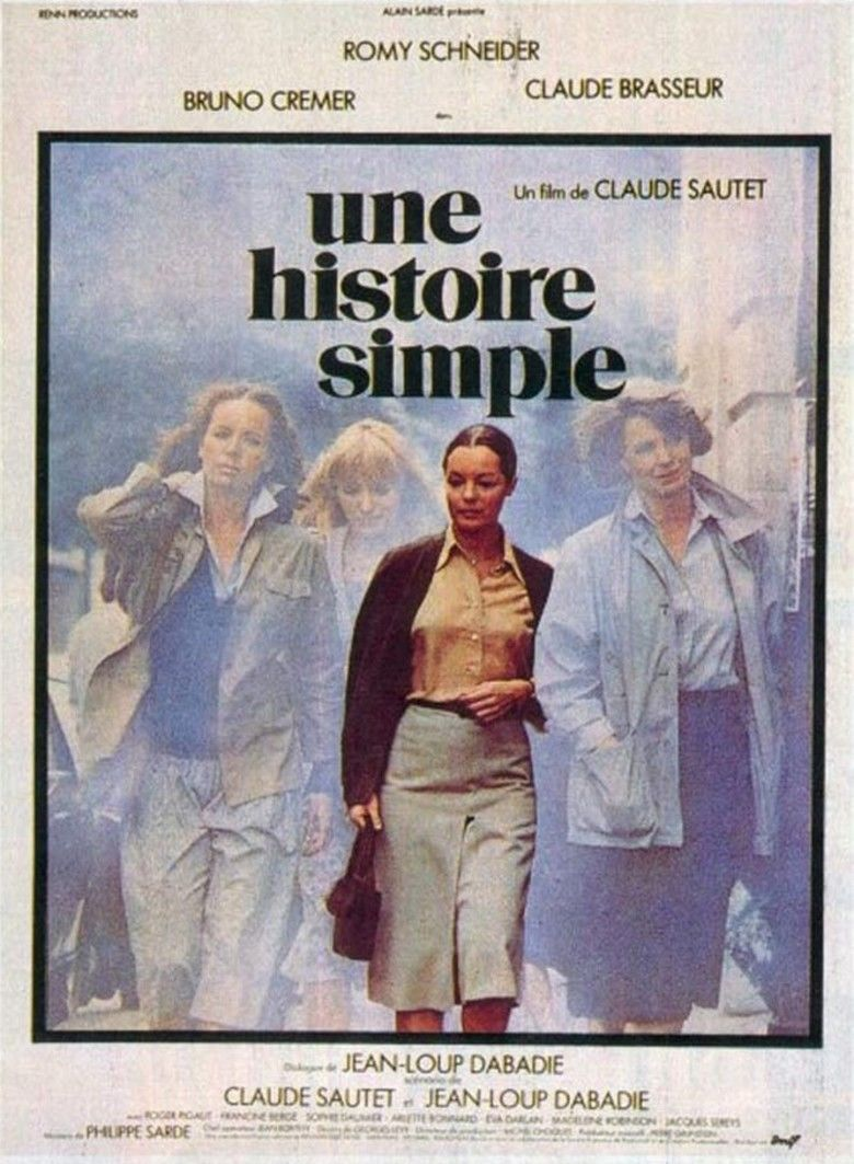 A Simple Story (1978 film) movie poster
