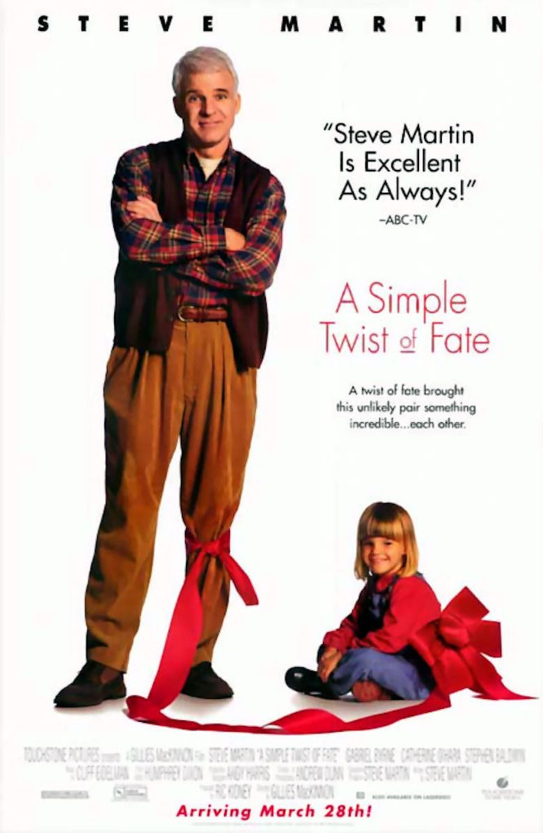 A Simple Twist of Fate movie poster